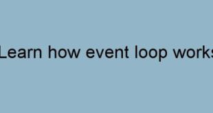 how-nodejs-loop-work