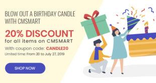 happy birthday cmsmart